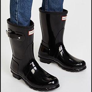 Hunter Original Short Gloss Boots